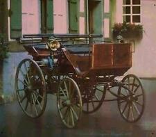 Altes Blechschild Oldtimer Daimler Motor_wagen Motor_Kutsche gebraucht used