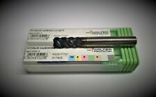 WALTER MC326.6.35W4D Carbide End Mill,TiAlN,8in.dia.
