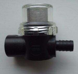 """SCREW or Barb Ends NEW SHURFLO FILTER STRAINER 1//2/"""" THREAD"""