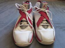 bb6a25f8fed Air jordan shoes 467807-101 White Metallic Silver Varsity Red Stealth Size  10.5