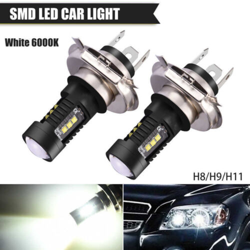 H4 9003 60W 1800LM 6000K Car COB LED Conversion Headlight Bulb Hi//Lo Beam