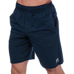 Under-Armour-Homme-Sportstyle-Coton-Short-Pantalon-Bas-Bleu-Sports