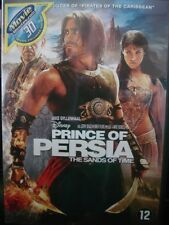 Prince of Persia The Sands of Time (DVD) Region 2 Only, Will Not Play On U.S