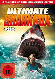 Asylum-ULTIMATE-SHARKBOX-Hai-Horreur-SHARKNADO-Alligator-PIRANHA-Jurassic