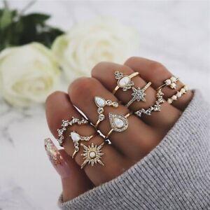 10Pcs-set-Gold-Midi-Finger-Ring-Set-Vintage-Punk-Boho-Knuckle-Rings-Jewelry