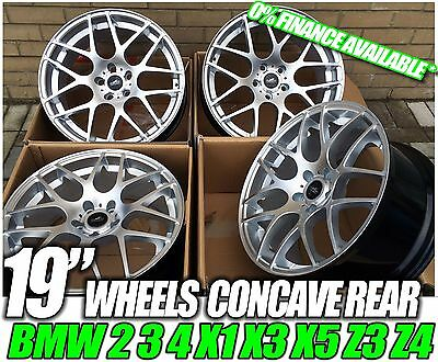 "19"" SILVER Alloy Wheels BMW CSL e92 M-sport 3 SERIES NEW 5 series ASK FOR TYRES"