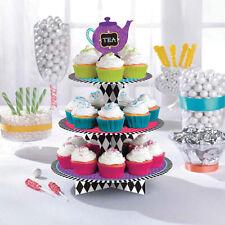 Sombrerero Loco Alicia en el país de las maravillas Pastel Fiesta Cupcake meriendas/Soporte de tratar