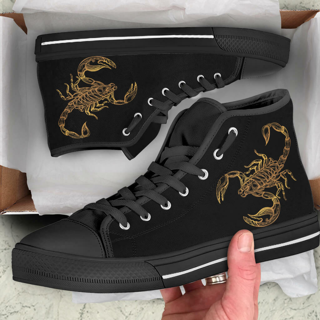 precios ultra bajos SCORPIO Zodiac Mujer Alto Top Zapatos-US Zapatos-US Zapatos-US tamaño-HQ-Scorpion Zapatos De Lona  las mejores marcas venden barato