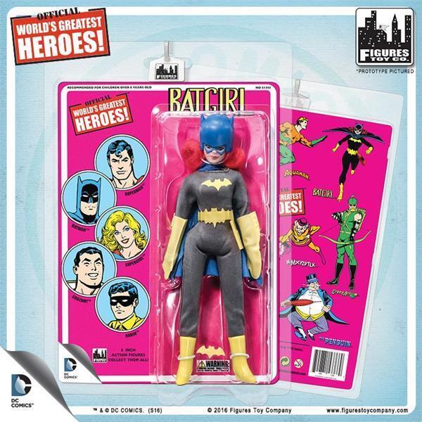 DC Comics Batgirl figura de acción de 8 pulgadas con tarjetas Retro Estilo  MIP retirado