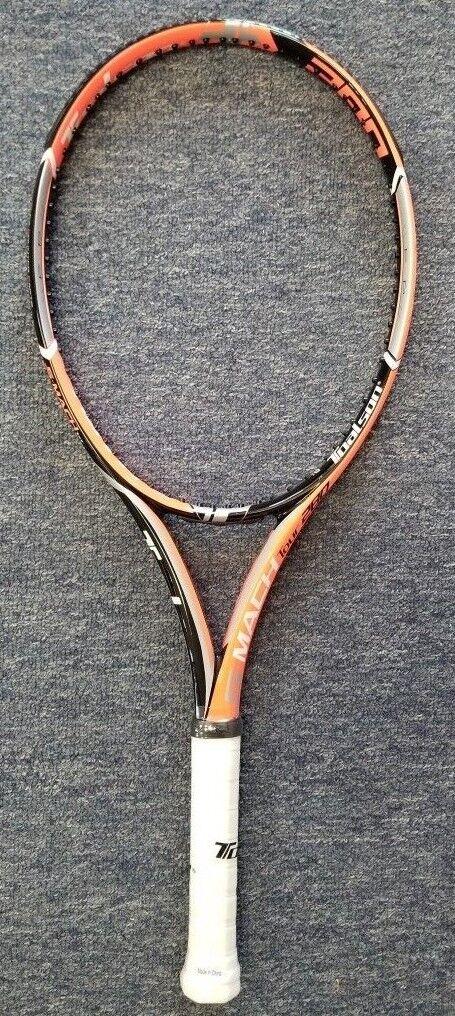 Toalson S-Mach Tour 280 16x19 Tennis Racquet FREE STRINGING Free Strings arancia