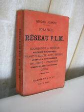 Guide JOANNE France Réseau P.L.M. 1904