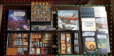 Box Game Premium Organizer for Board game FFG Eldritch Horror + ALL  Expansions | eBay