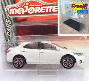 Majorette-Toyota-Corolla-Altis-White-Diecast-Car-1-61-292J-Free-Show-Box