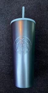 Starbucks Holiday 2020 Gradient Elsa Blue//Mint Purple Stainless 24oz Tumbler Cup