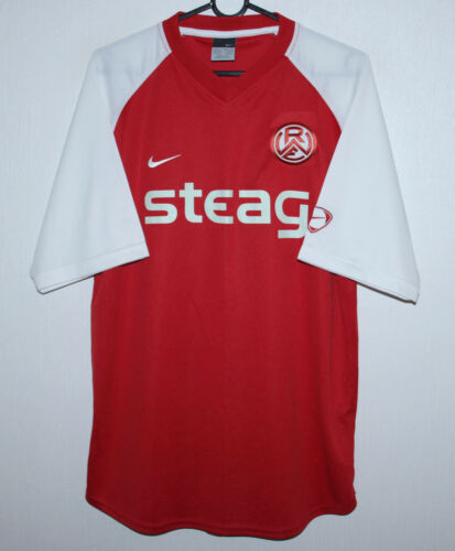 RotWeiss Essen Germany home shirt 0506 Size M
