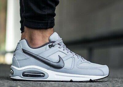 Nike Air Max Command Leather Sneaker caballero zapatos de cuero gris Classic 749760 012 | eBay