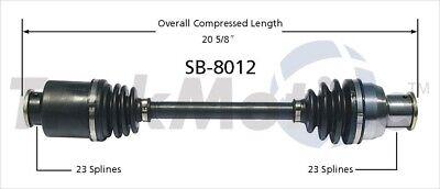 SurTrack MI-8021 CV Axle Shaft