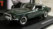 Bullitt 1/43 Scale 43207 1968 Ford Mustang GT Steve McQueen Green Diecast model