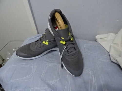 top textile Grey Sneakers Rrp Leather up Lace Low Lacoste Pa05302 Mens £85 q6w04cpt