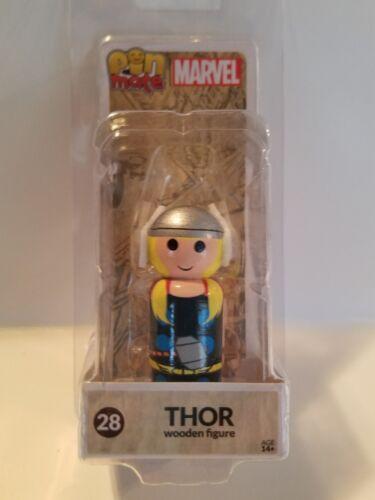 Thor PIN Mate en bois Figure
