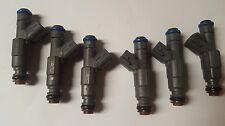 Bosch Fuel Injectors Ev6 Set Of 6 Upgrade 27lb Jeep 40l 4 Hole 1999 2004