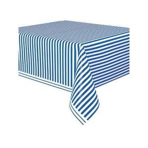 Royal Blue Plastic Tablecloth 9ft x 4.5ft