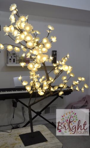 Tabletop Bonsai Mini Flower 160 LED Warm Light Home Room Office Party Decro
