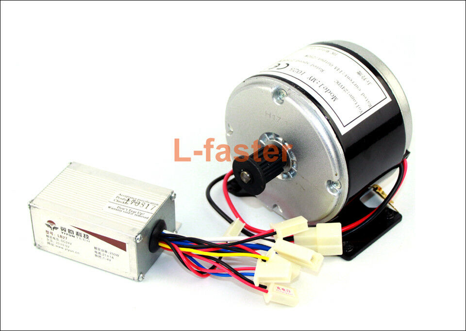 24V 250W Electric  High Speed DC Motor With Controller Electric Mini Scooter Brus  shop now