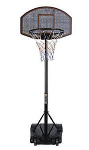 Impianto mini basket ruote altezza 1.4-2.2 mt CORSPORT pallacanestro canestro