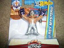 WWE Rey Mysterio Silver pants  new pack
