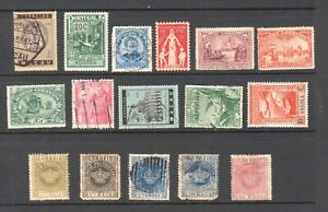 PORTUGAL-COLONIES-WITH-CROWNS-COLLECTION-LOT-16-STAMPS