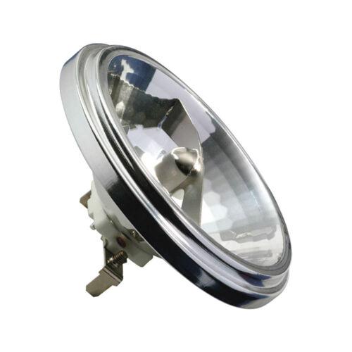 Paulmann Halogen Reflektor AR111 75W G53 12V Silber dimmbar 75 Watt flood 24°