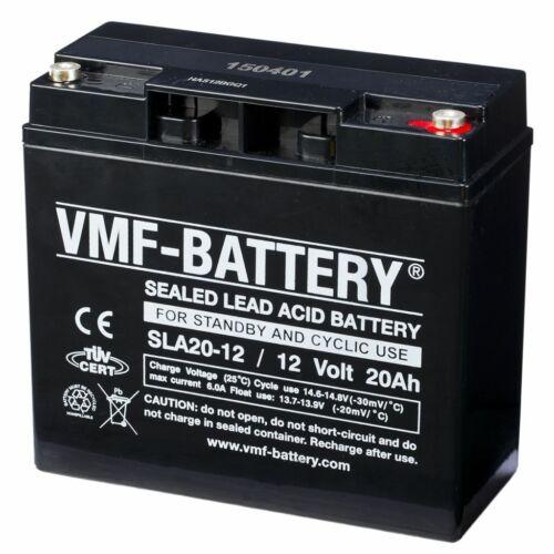 VMF AGM Blei Batterie Akku Bleiakku Gelakku Bleigelakku 12 V 20 Ah SLA20-12