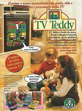 X7966 TV Teddy - Giochi Preziosi - Pubblicità 1994 - Vintage advertising