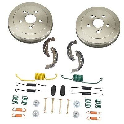 Complete Rear Brake Drum Hardware Kit for Toyota PRIUS 2004-2007 ALL