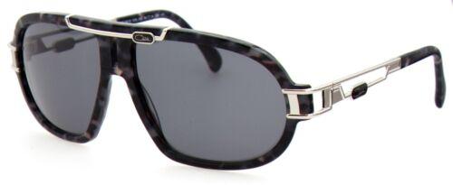 Cazal Herren Damen Sonnenbrille MOD.8018 COL.002 64mm schwarz silber S AB3 4