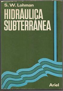 HIDRAULICA-SUBTERRANEA-S-W-LOHMAN-F-SICA-MUY-RARO-Y-DIF-CIL