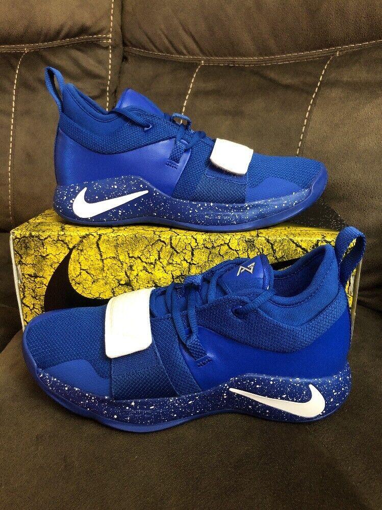 Nike PG 2.5 TB Team Bank Game Royal bluee Duke BQ8454-400 Size 9.5