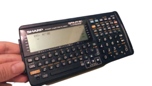 SHARP Pocket Computer PC-G850V Graphic Programming Hardware POKEKON Z80