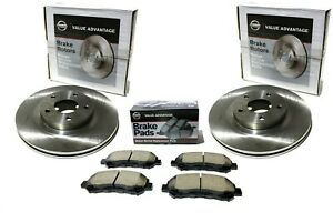 Wagner 4pcs Front Disc Brake Pad Kit For PATHFINDER 2005-2012 KA05