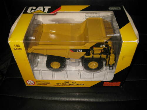CAT 150 CATERAR CAT 772 OFF HIGHWAY TRUCK YELLOW #55147 OLD STOCK