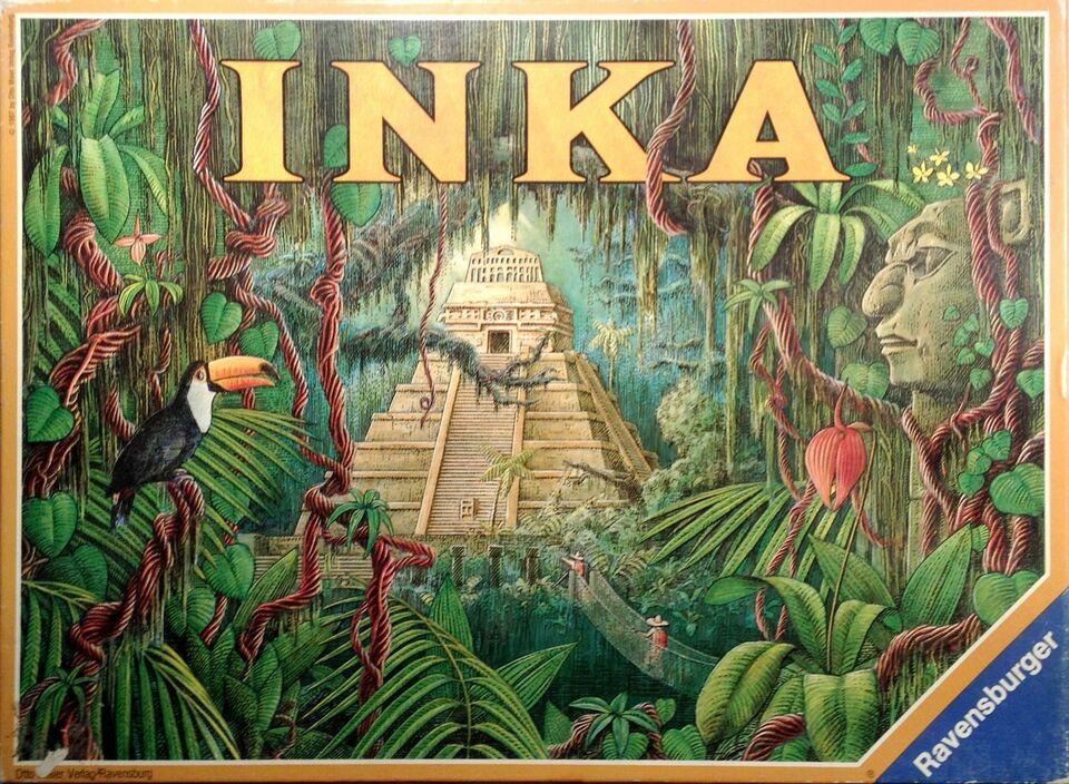 Inka, familiespil, brætspil