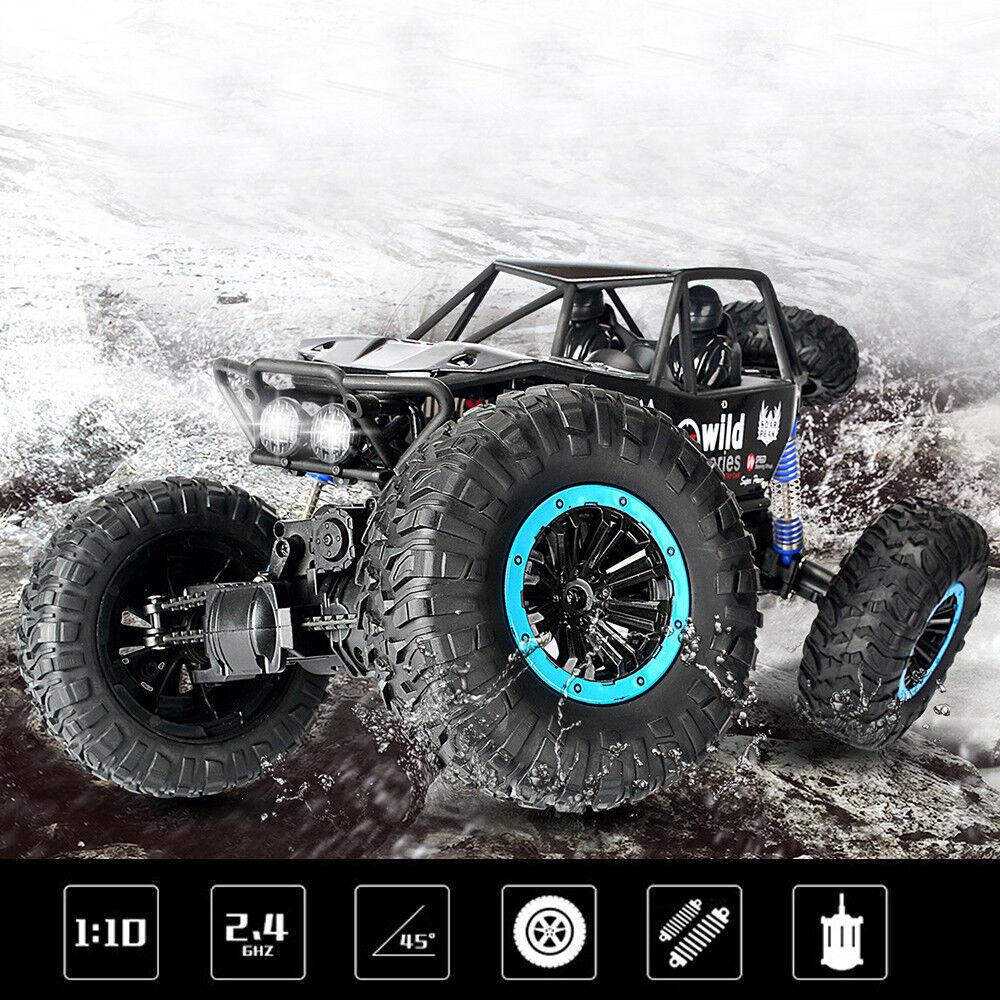 1  10 - skala rc - car 4d off - road - fahrzeug 2.4g 30km   h funkfernsteuerung auto cool