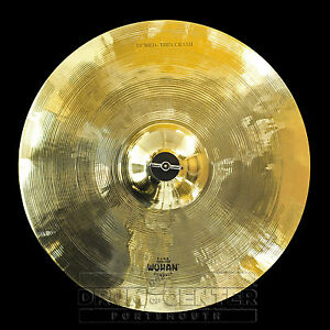 "Wuhan Medium Thin Crash Cymbal 16"" - VIDEO - WUCR16MT"