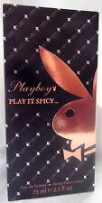 PLAYBOY PLAY BOY PLAY IT SPICY 2.5 OZ / 75 ML EAU DE TOILETTE SPRAY NIB WOMAN