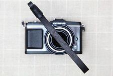 CIESTA RAIL Leather Camera Wrist Strap Black for Mirrorless Camera RF DSLR