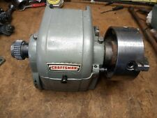 Atlas 618 Craftsman 101 6 Lathe Headstock With 4 Independent 4 Jaw Chuck