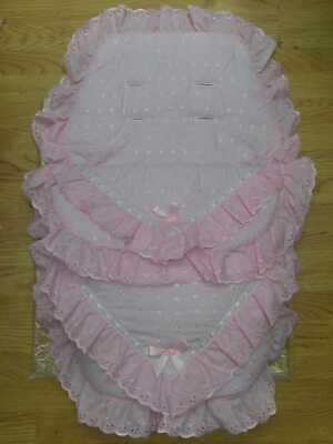 Apprensivo Bellissima Luxury Cosytoes/sacco Imbottito Romany. Lo Stile Di Colore Rosa Baby- Costo Moderato
