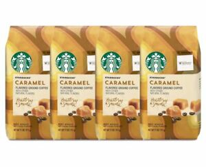 Starbucks Caramel Flavored Ground Coffee 11 OZ. (4-Pack ...