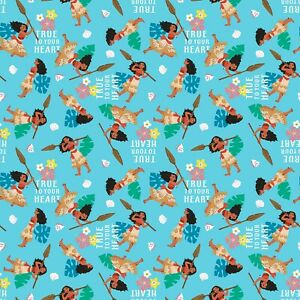 Disney Pixar Moana Fabric 100/% Cotton